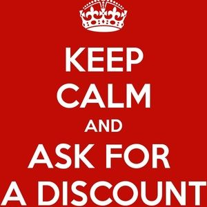 Ask for a Reasonable Discount by making an offer!